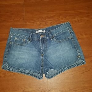 Old Navy denim shorts lowest rise